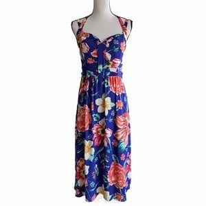Anthropologie Moulinette Soeurs floral dress.